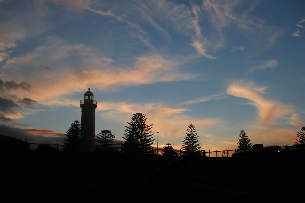 002-Feb 16-Lighthouse Sunset